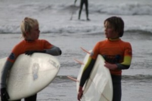Bantham Surf Academy 534-2 Half Term School Holiday surfing South Devon
