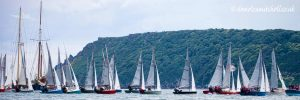 Merlin rocket week Salcombe sailing holidays and races Salcombe events