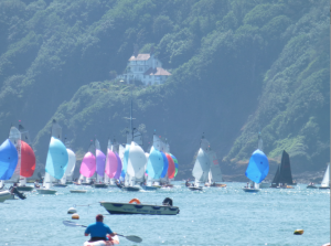Bar Lodge holiday home Salcombe with-merlin-spinnakers
