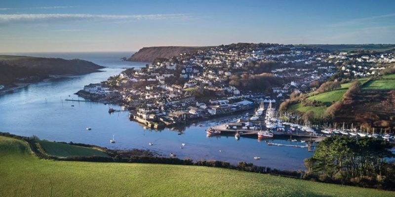 The sun shines down on the South Hams by Savills image